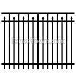 Decorative Aluminum Fence Panel