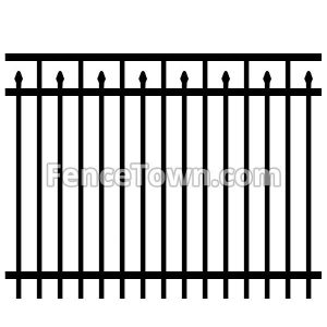 Aluminum Fence Panel Spears
