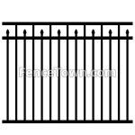 Aluminum Pool Fence Panel 200 54H