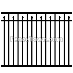 Aluminum Pool Fence Panel