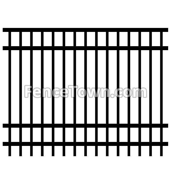 Aluminum Fence Panel 72H
