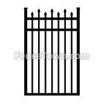 Alternating Spear Top Gate 36W | FenceTown