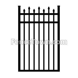 Alternating Spear Top Gate 36W
