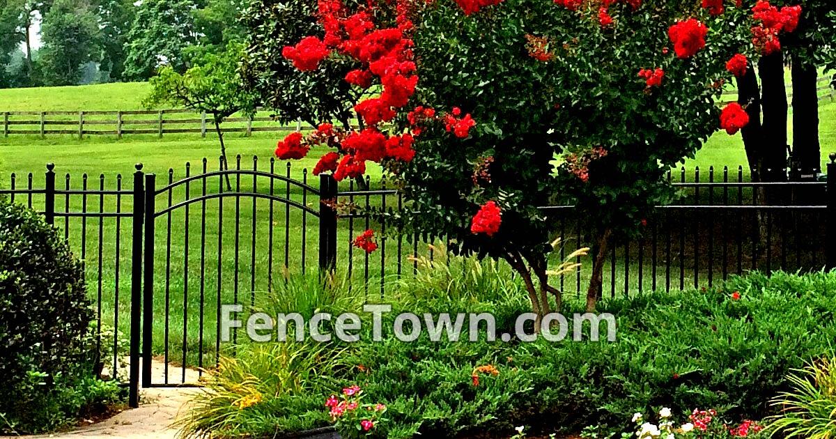 Longspur Aluminum Fence Panel