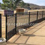 Onguard Starling Dog Panel Aluminum Fence | FenceTown