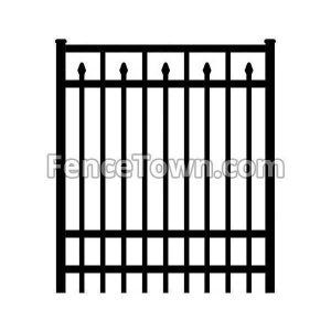 Onguard Siskin Gate 72H-48W