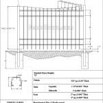 Onguard Ibis Aluminum Fence Panel 72H