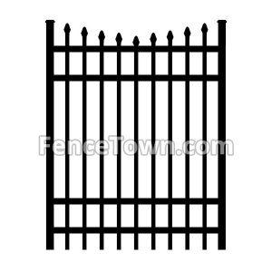 Onguard Ibis Aluminum Gate 72H-48W