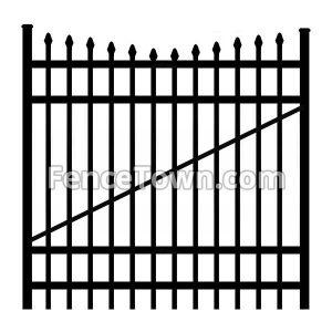 Onguard Ibis Aluminum Gate 72H-60W