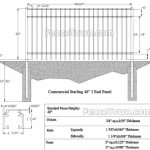 Onguard Starling Commercial Aluminum Fence   FenceTown