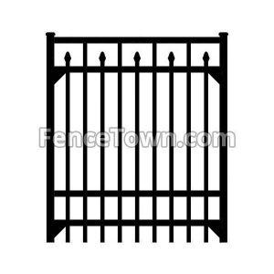 Specrail Essex Gate 72H-48W