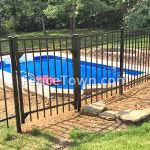 Specrail Saybrook Fence Panel and Gate