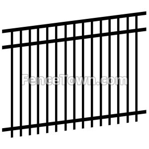 Double Punched Fence Panel