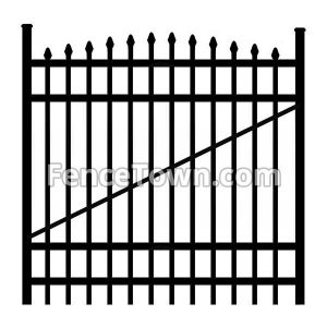 Onguard Willet Gate 72H-60W