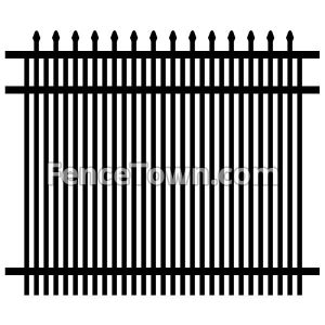 Specrail Falcon Fence Panel