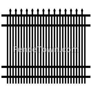 Specrail Falcon Fence Panel 72H