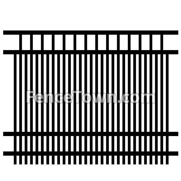 Specrail Horizon Fence Panel 72H