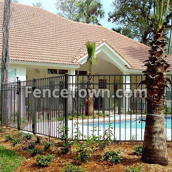 Specrail Saybrook Storrs 54H Pool Fence