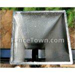 Inside Aluminum Line Post