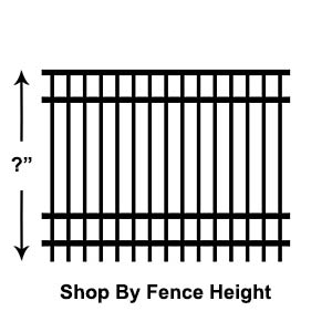 Shop by Fence Height