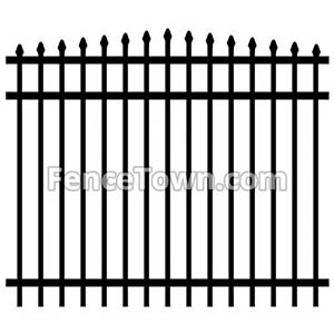 Arched Top Fence Panel