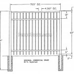Specrail Saybrook Commercial Fence Specs | FenceTown