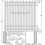 Specrail Berkshire Industrial Aluminum Fence   FenceTown