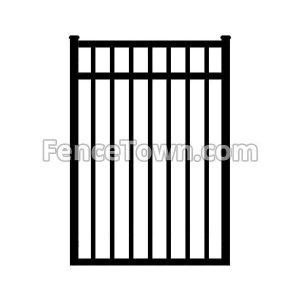 Aluminum Gate 54H x 36W