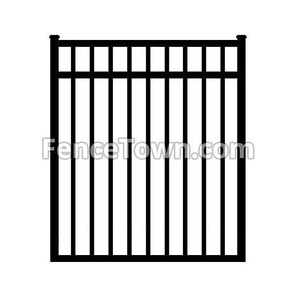 Aluminum Gate 54H x 48W