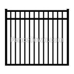 Aluminum Gate 54H x 48W | FenceTown