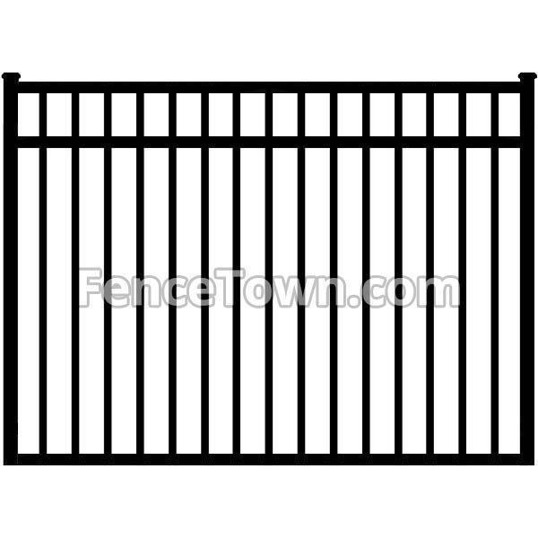 Aluminum Gate 54H x 72W