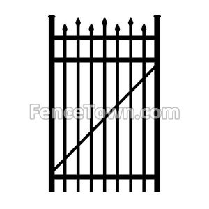 Alternating Pressed Spear Top Gate 36W