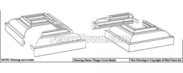Elite Surface Mount Cover Specs