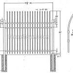 Specturion Industrial Aluminum Fence Specs   FenceTown