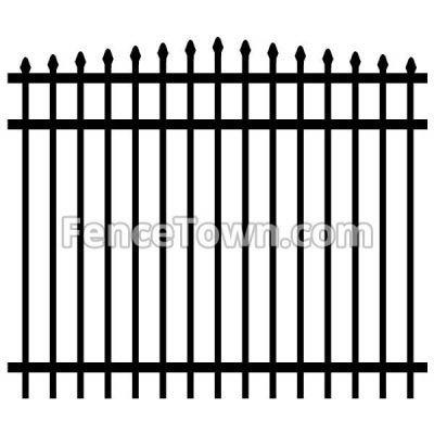 Arched Aluminum Fence Panels