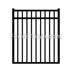 Flat Top Aluminum Gate 48W