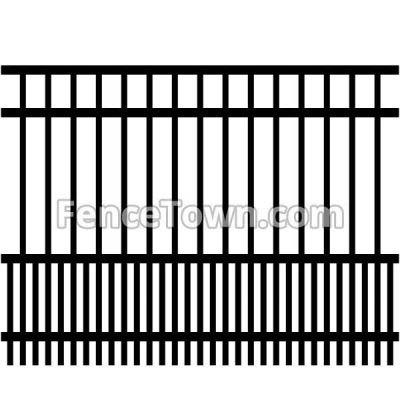 Dog Panel Aluminum Pet Fence