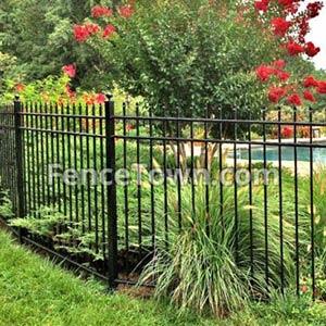 Residential Aluminum Fence Panels