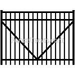 Onguard Starling 12 Foot Wide Aluminum Gate   FenceTown