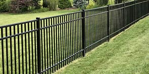 Commercial Grade Aluminum Fence